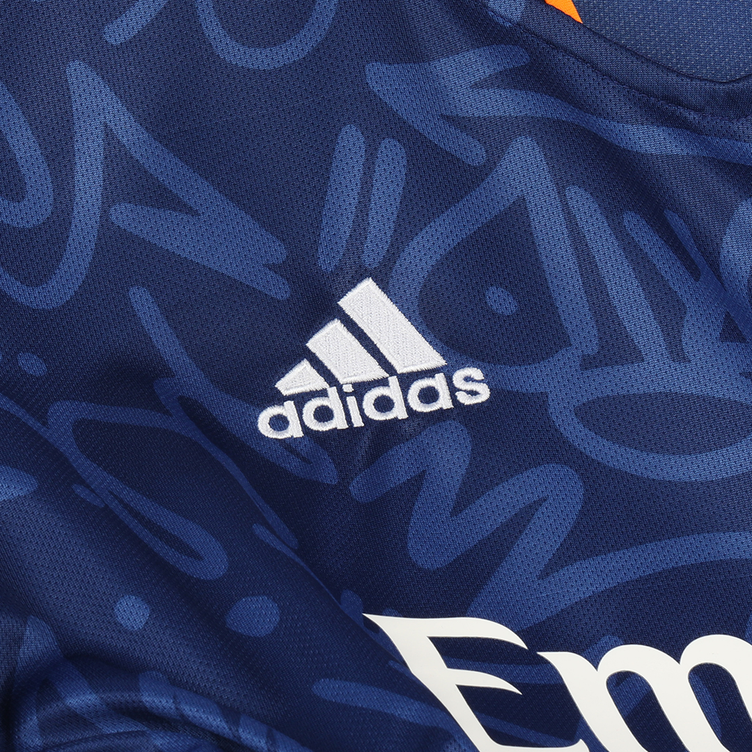 Replica Real Madrid Away Jersey 2021/22 By Adidas