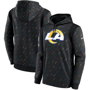 NFL Los Angeles Rams Crucial Catch Therma Pullover Hoodie 2021