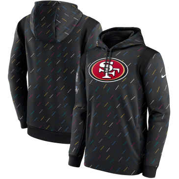 NFL San Francisco 49ers Crucial Catch Therma Pullover Hoodie 2021