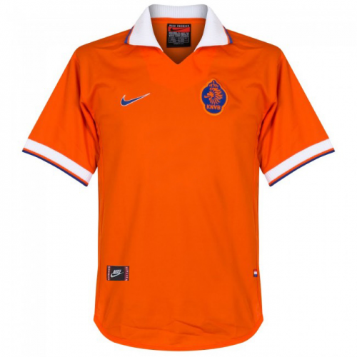 Retro Netherlands Home Jersey 1997/98 By Nike